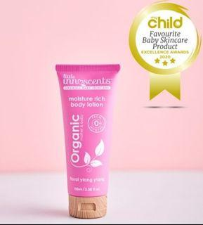 Little Innoscents Organic Moisture Rich Body Lotion - Safe for All including Babies and Adults