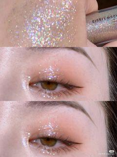Mac 眼影蜜 液體眼影 not afraid to sparkle