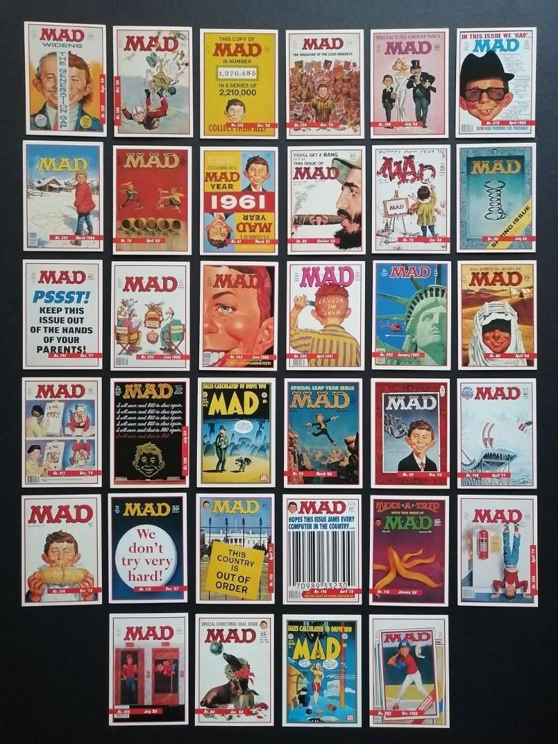 MAD Magazine Vintage Trading Cards