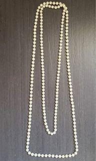 """Pearl Necklace 74"""" 女裝珍珠頸鏈74吋"""