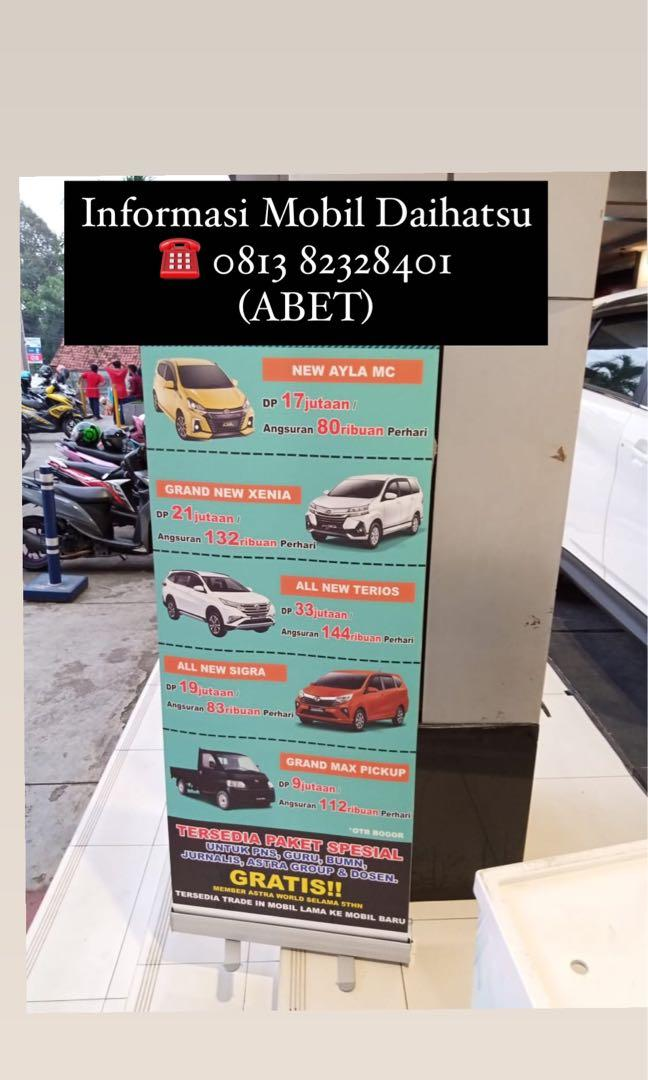 PROMO DP MURAH Daihatsu Granmax Minibus mulai 18 jutaan. Daihatsu Fatmawati