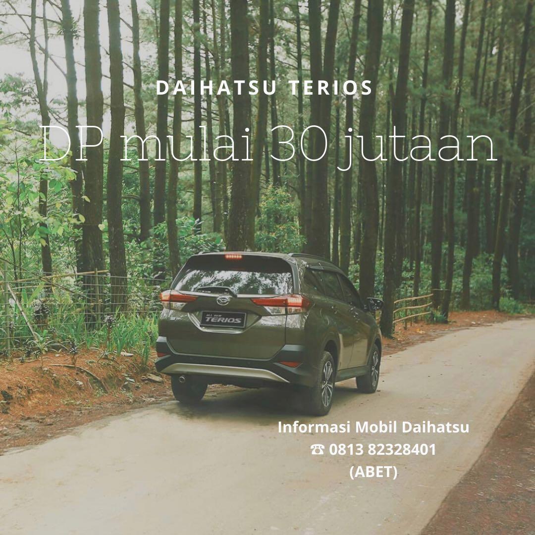 PROMO DP MURAH Daihatsu Terios mulai 30 jutaan. Daihatsu Fatmawati
