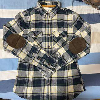 ROUSH 格子襯衫 size:M