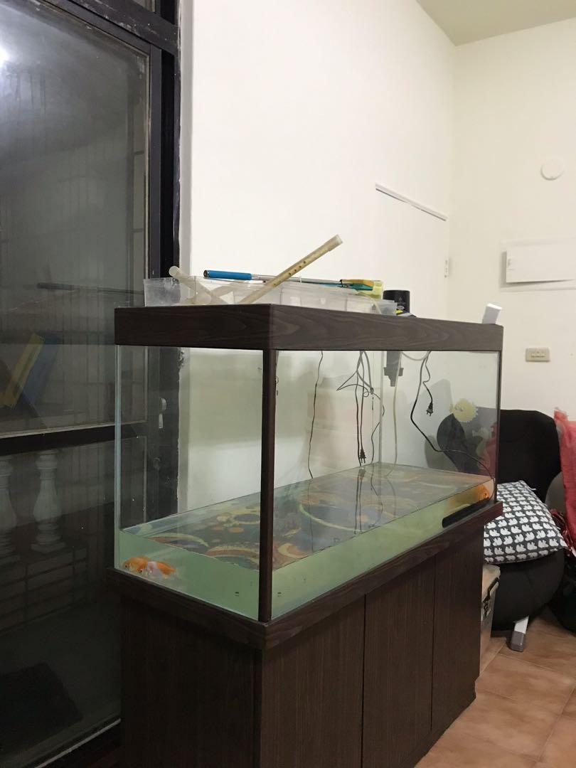 4呎魚缸,過濾器