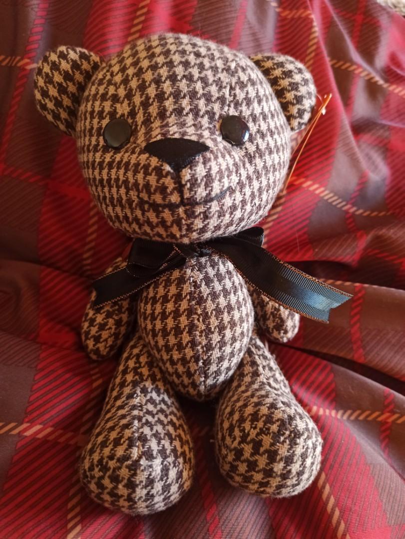 巧克力色泰迪熊