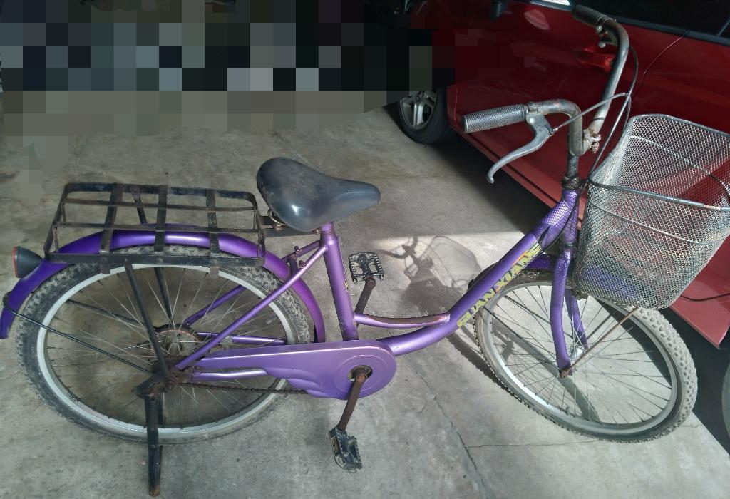 二手 淑女車 腳踏車 自行車 單車 24吋。長輩