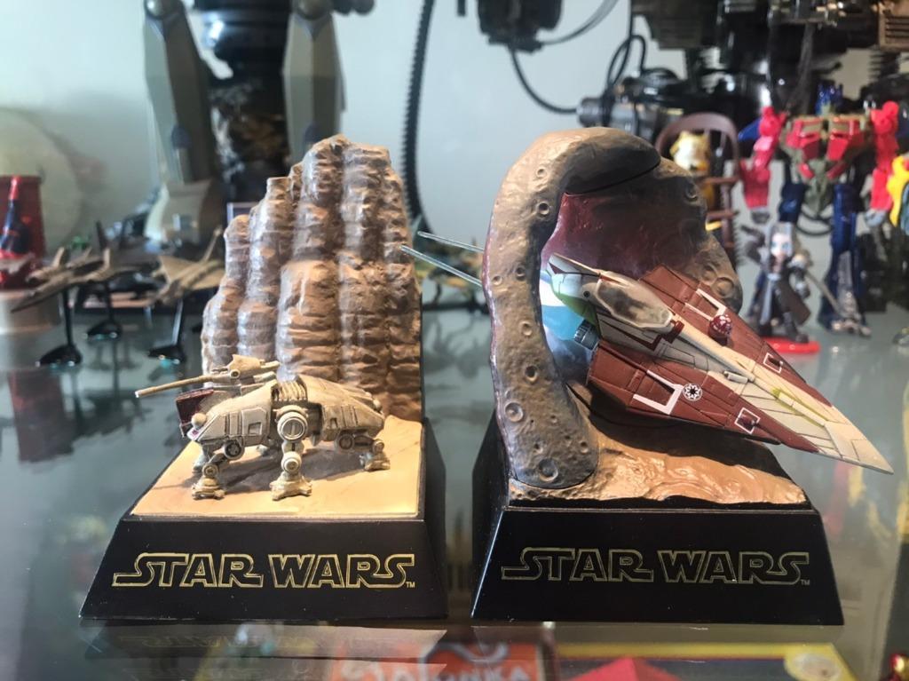 日版 拆擺品 tomy 星際大戰 star wars 場景 盒玩 小物