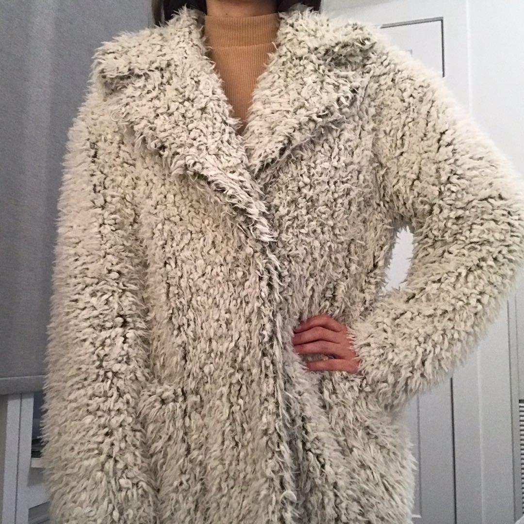 Anthropologie Teddy Coat