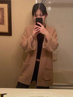 Aritzia Wilfred oversized cardigan