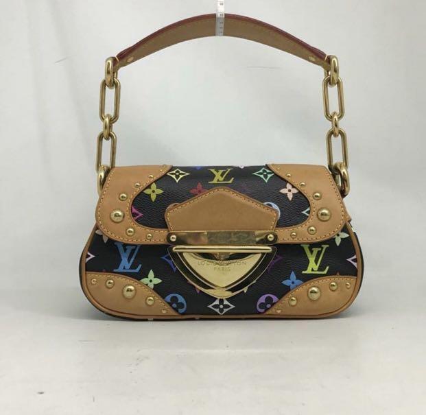 Authentic Louis Vuitton Marlyn Black Multicolour GHW