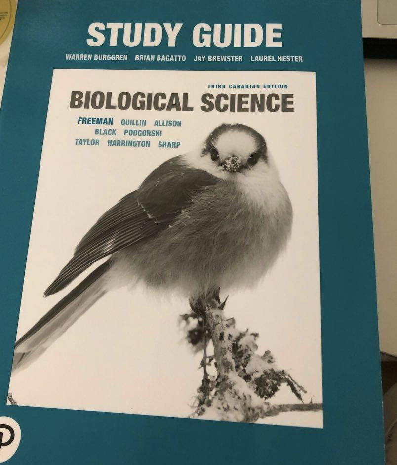 Biological science study guide