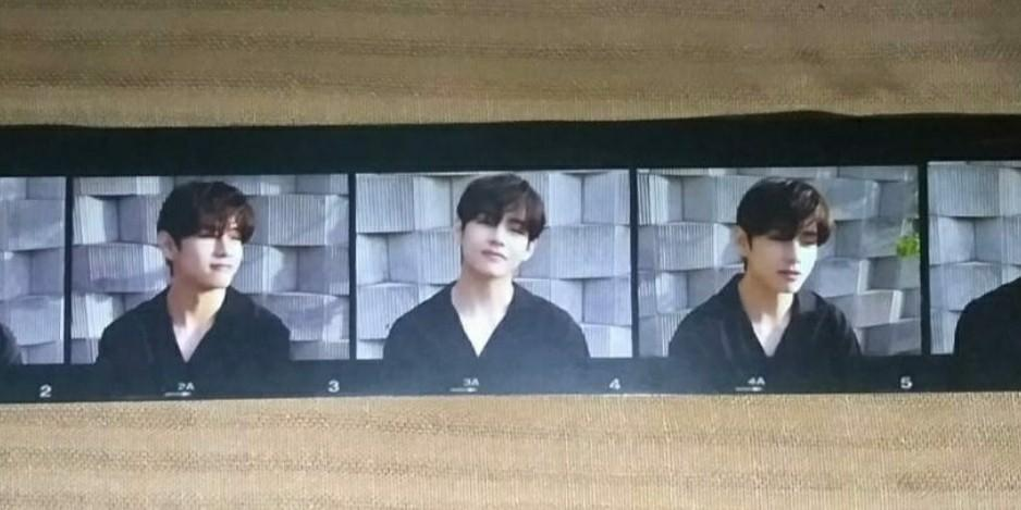 BTS BE LIFE GOES ON SMALL PHOTOSTRIP V VER