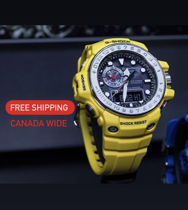 Casio G-Shock Gulfmaster Solar / radio watch BNIB
