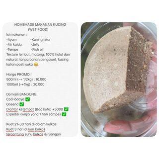 Catnivoraw Natural Wet Food (Makanan Kucing)