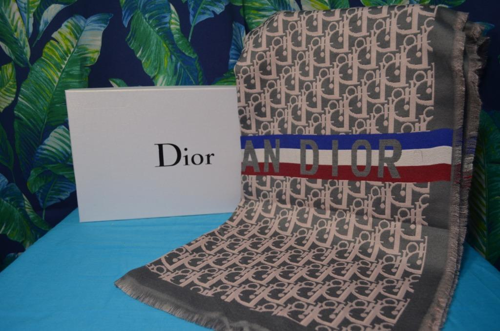 Dior Cashmere Scarf