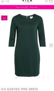 Green Dress (VILA)