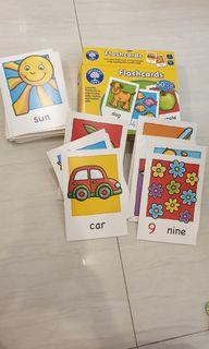Flashcard orchard toy for kids