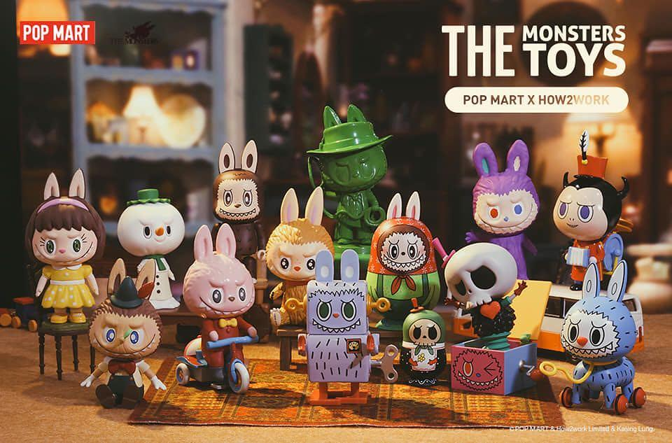HOW2WORK × POPMART【The Monsters Toys】盒玩_錫鐵小兵(Tin Toy)_已拆未拆袋