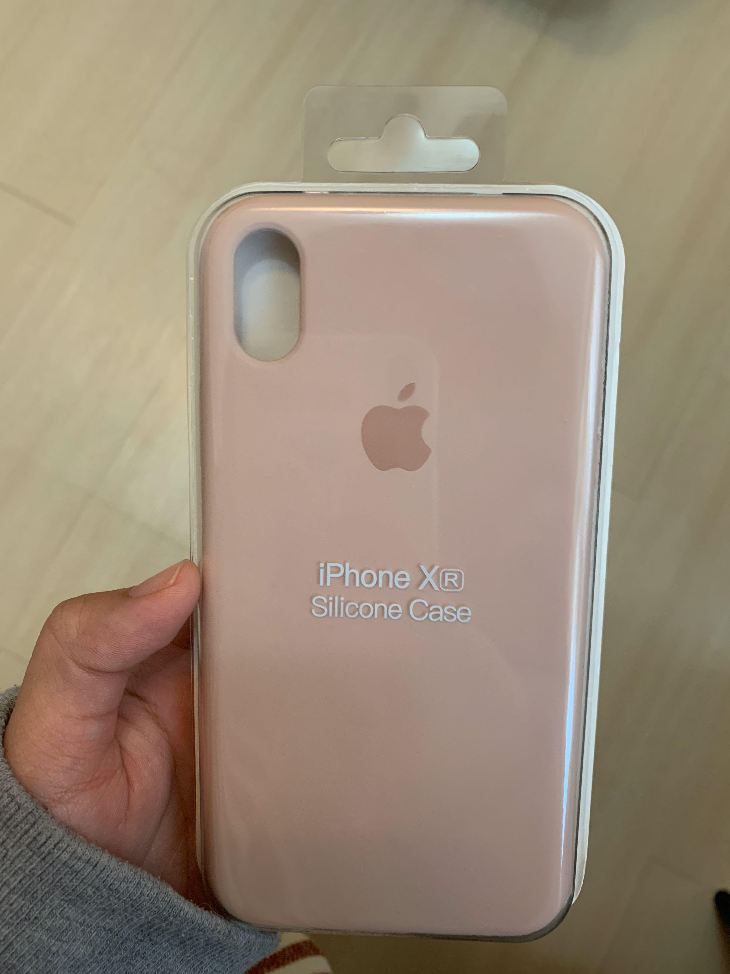 IPHONE XR手機殼 粉  #全新未拆