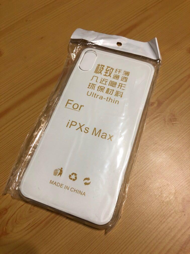 iPhone XS Max 矽膠手機殼