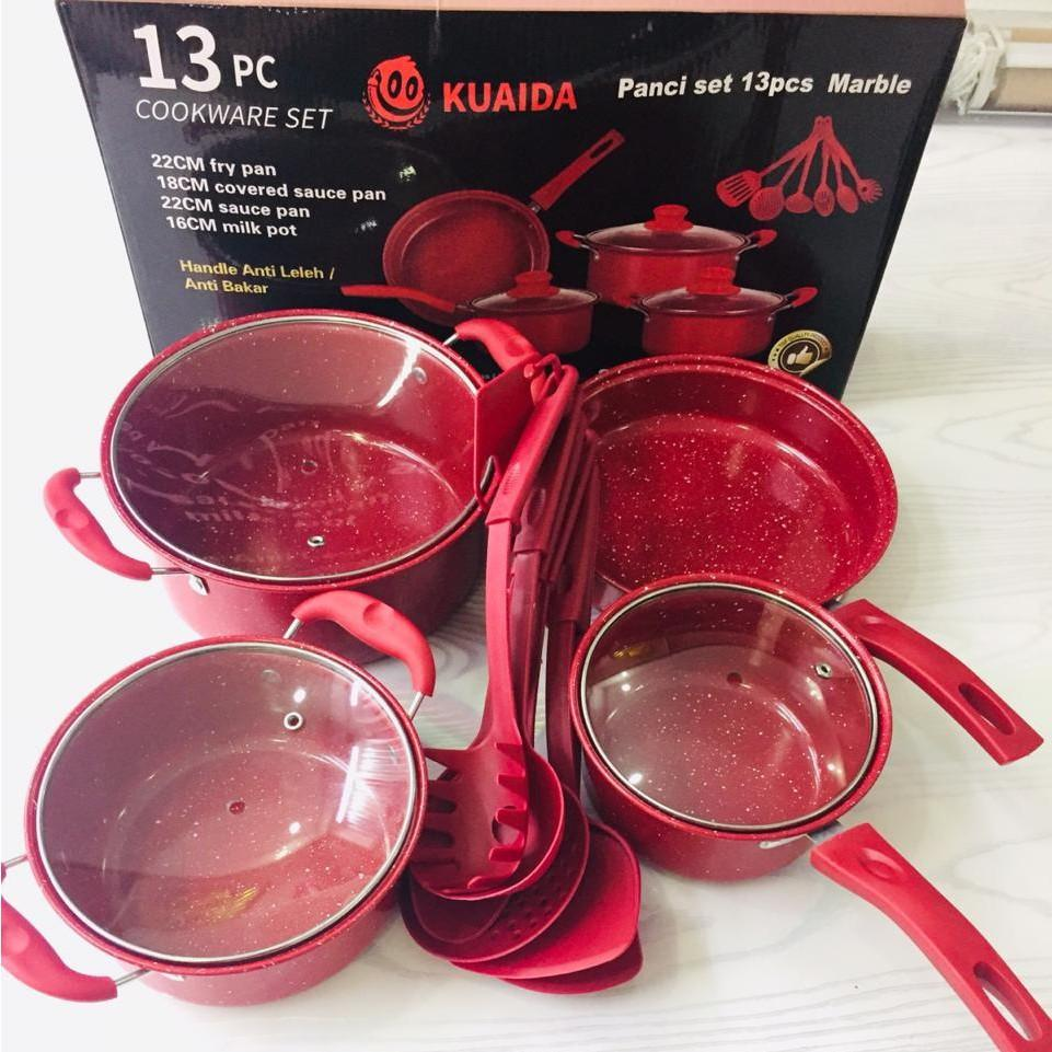Kuaida panci set 13pcs
