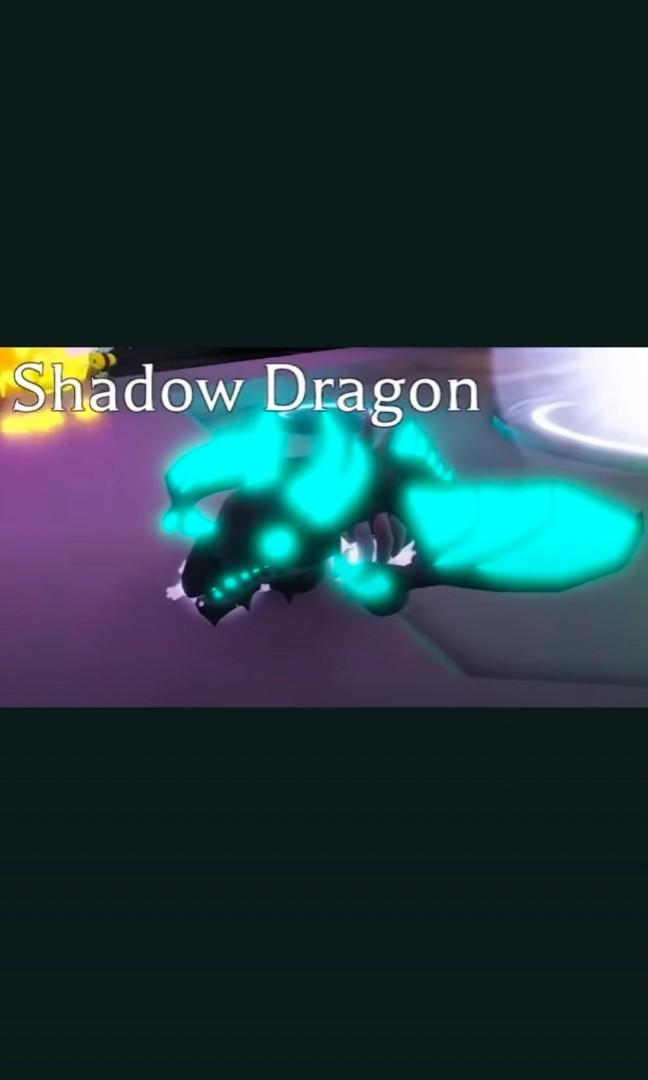 Mega Neon Shadow Dragon Adopt Me Video Gaming Video Games