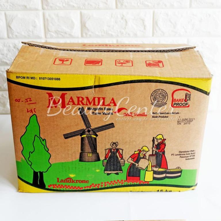 Mentega & Butter Marmila Margarine 15 Kg / Margarine Vanilla Susu