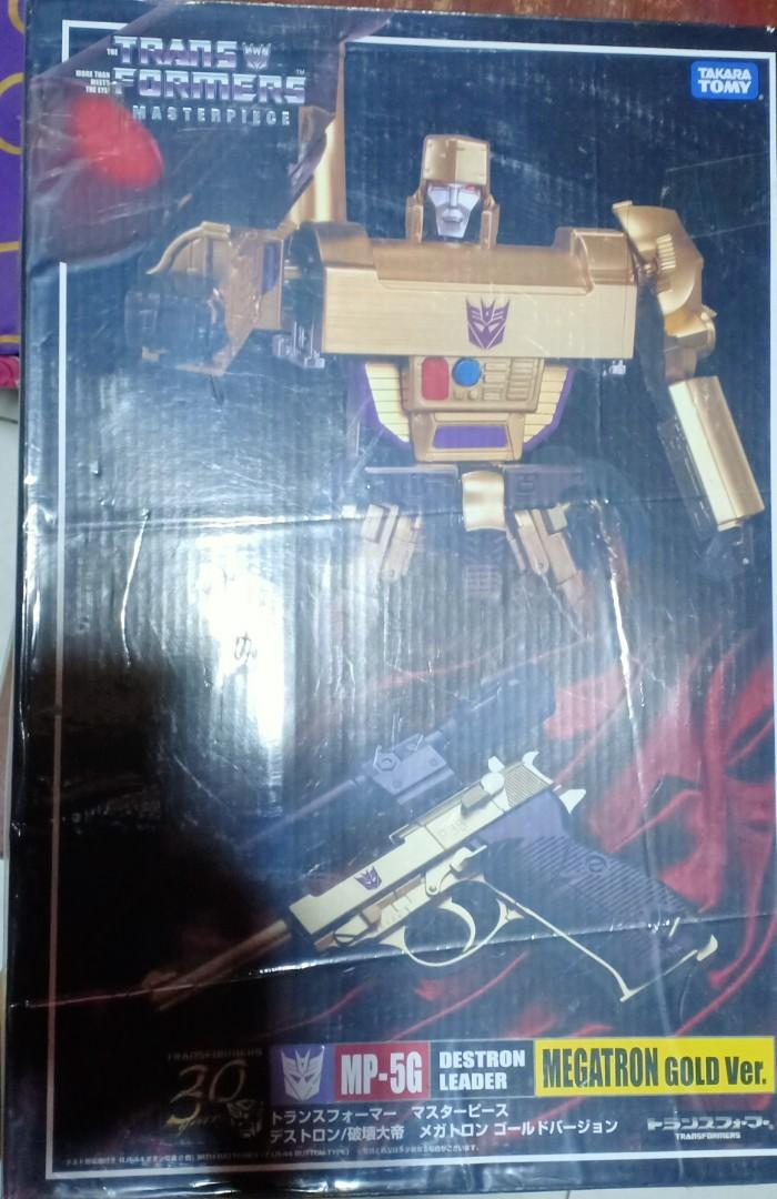 Transformers Masterpiece Megatron G1 Destron Leader Action Figure Toys In Stock