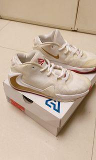 Nike Zoom Freak 1 white gold