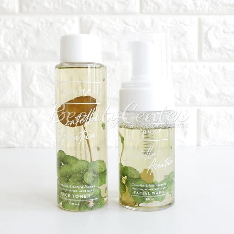 Paket Perawatan Wajah Npure Paket Cica Series / Paket Face Toner + Facial Wash