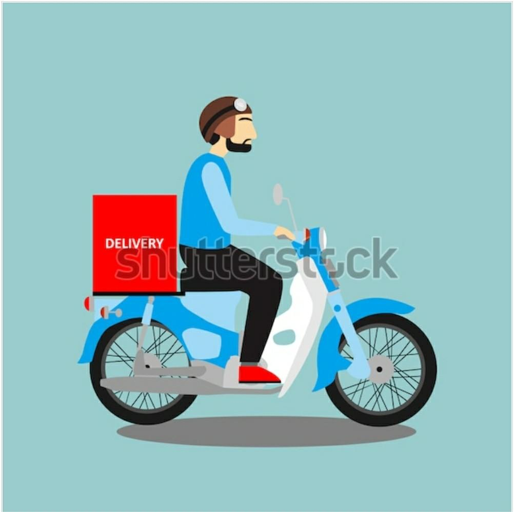 parttime delivery rider