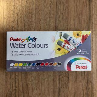 Pentel Arts Water Colours (12 Colours)