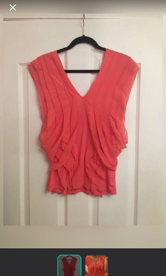 Pink blouse NWT