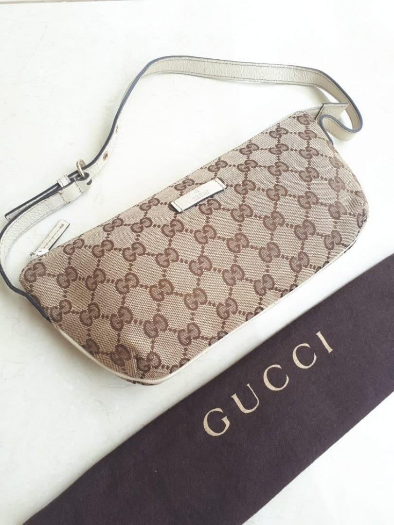 Preloved Authentic Gucci Pouch Bag