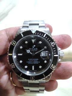 Rolex submariner 16610 z series cert and box