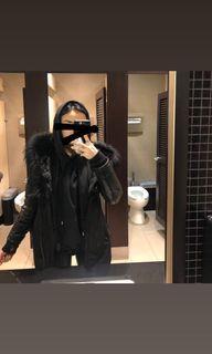 Rudsak Leather Sleeve Jacket