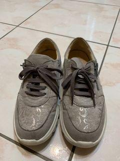 SCONA 牛皮氣墊增高休閒鞋 35號=23號