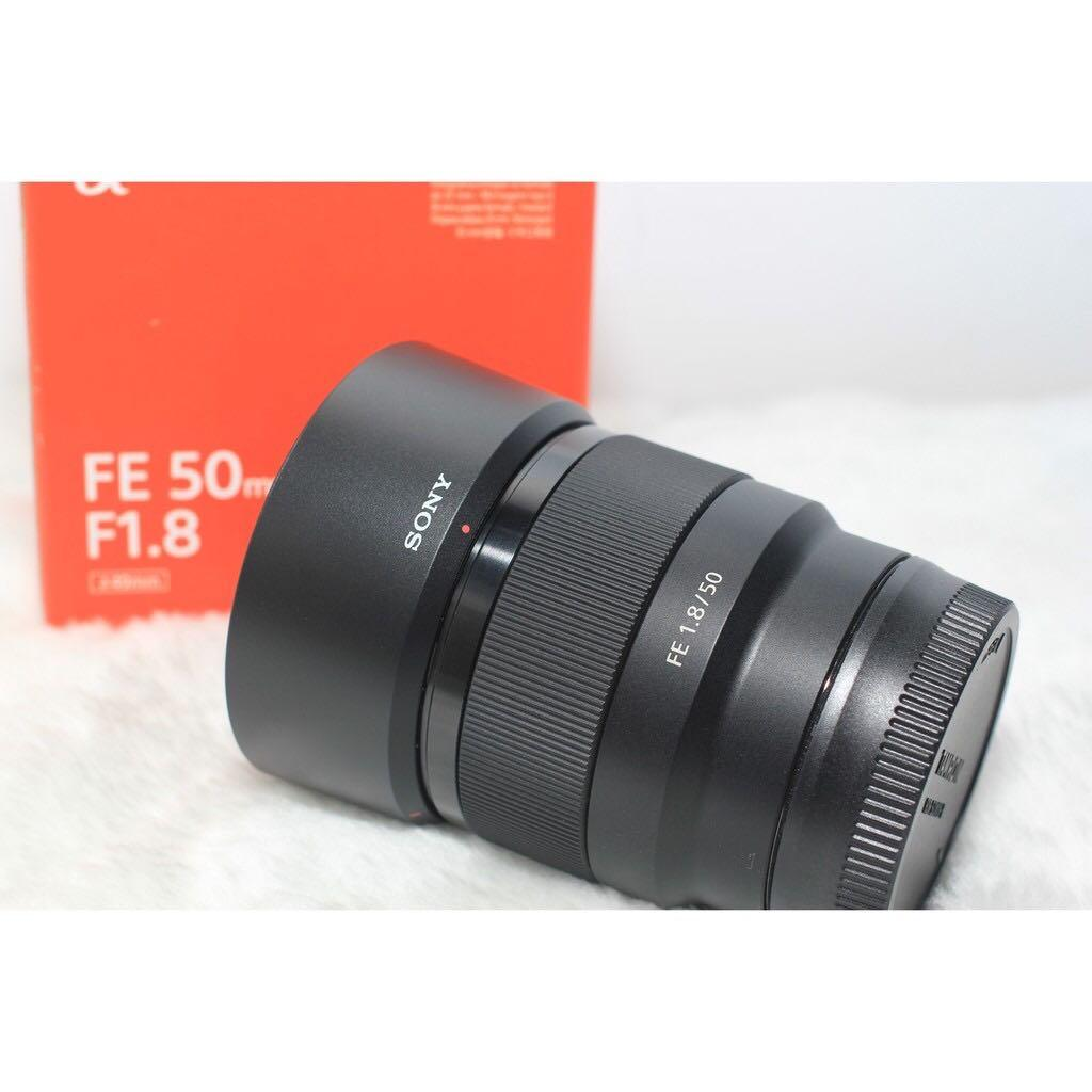 最接近肉眼的Sony FE 50mm F1.8 公司貨保固中