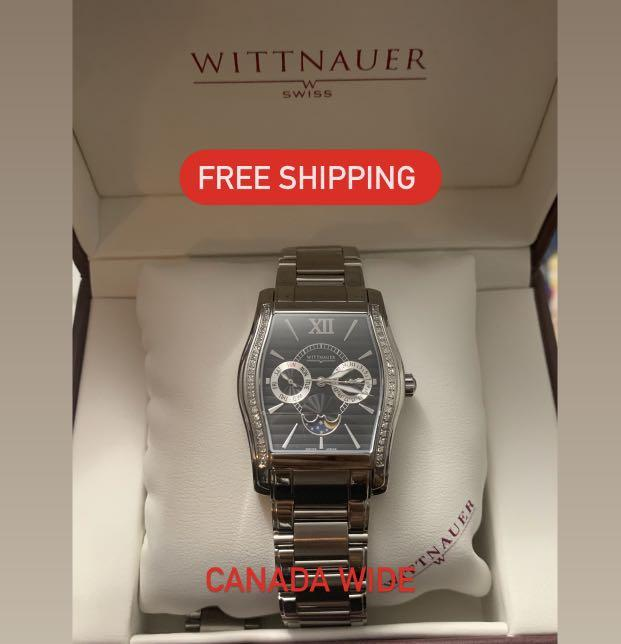 Wittanuer Classic Dress Watch Diamond / Moonphase