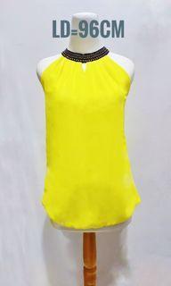 Yellow top list black
