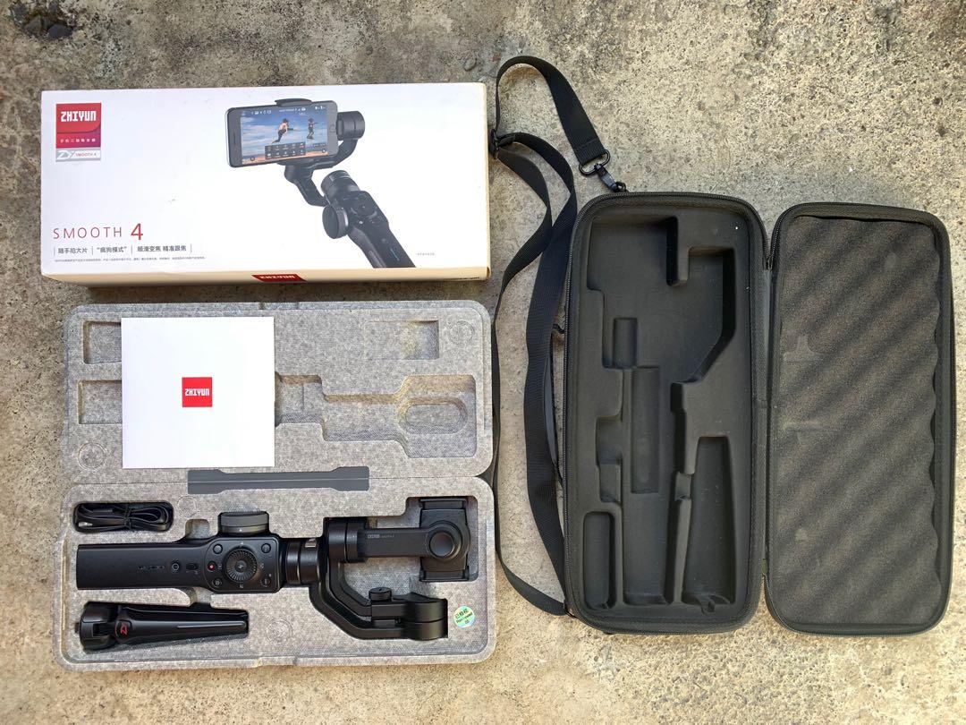 Zhiyun Smooth 4 3-Axis Handheld Gimbal Stabilizer