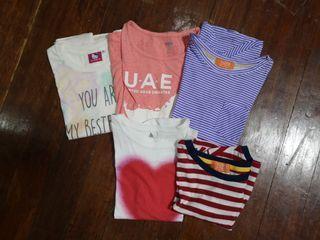 5 shirts for girls Zazu Old Navy