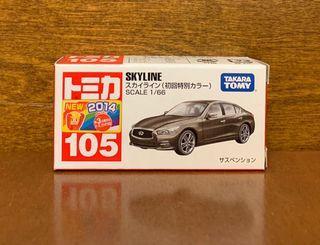 日版初版 TOMICA 105 Skyline 初回 HK$60