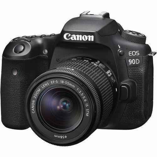 Bisa CiciLan Canon EOS 90D DSLR Camera with 18-55mm Lens