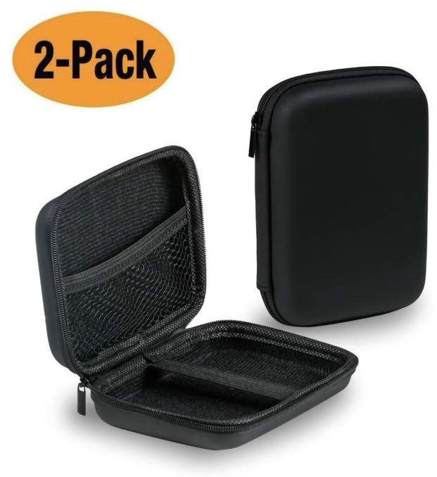 Brand new Hard Drive Case 2 Pack