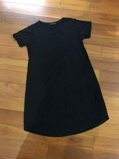 Cotton On - Black T-Shirt Dress