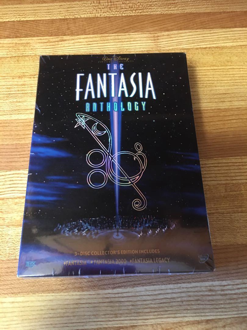 DVD-DISNEY FANTASIA ANTHOLOGY SET