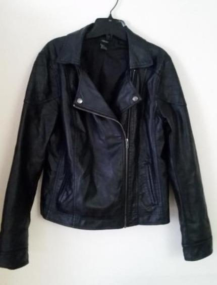 Forever 21 Pleather Jackets- Large
