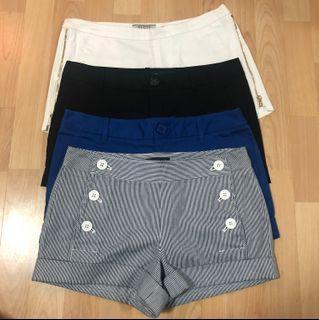 Guess & Aritzia Talula Shorts