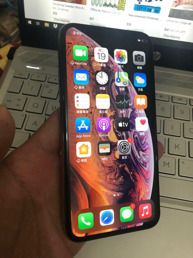 Iphone Xs 64g Unlock Mobile Phones Tablets Iphone Iphone X Series On Carousell